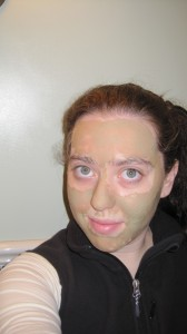 Indian Clay Mask On