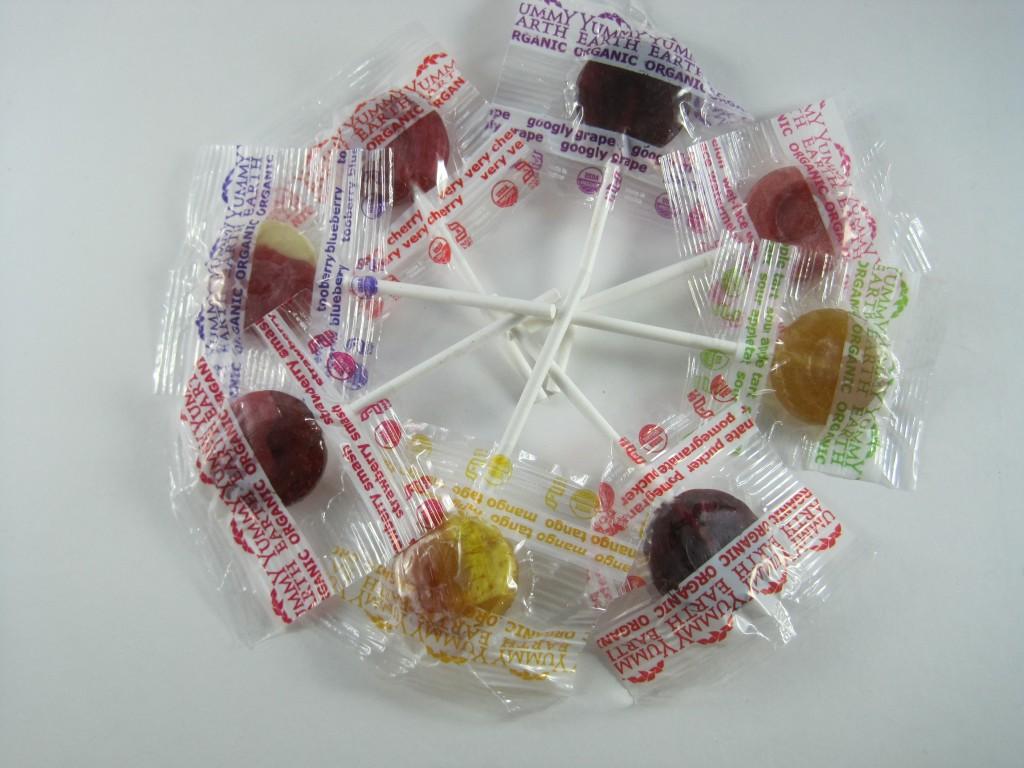 Organic Lollipop Flavors